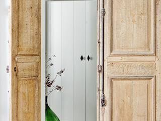 Jolanda Knook interieurvormgeving Country style corridor, hallway& stairs