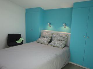 Cocottes Studio Modern style bedroom