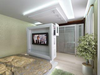 Студия дизайна Натали Хованской Eclectic style bedroom
