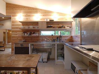 森を望む家 みゆう設計室 北欧デザインの キッチン