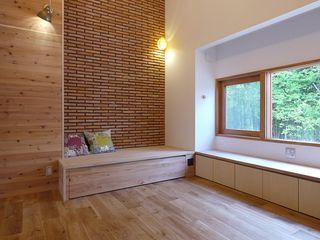森を望む家 みゆう設計室 北欧デザインの リビング