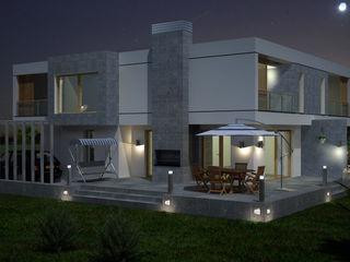 TARKAN OKTAY MİMARLIK Casas de estilo minimalista