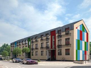 ARCHIplus Casas de estilo minimalista