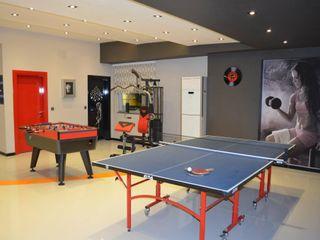 Emre Urasoğlu İç Mimarlık Tasarım Ltd.Şti. Modern gym