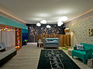 Espaço do Traço arquitetura Modern Kid's Room