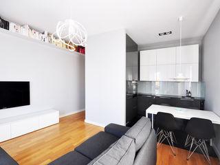 NBArchitects Modern living room