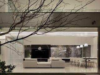 Mアーキテクツ 高級邸宅 豪邸 注文住宅 別荘建築 LUXURY HOUSES   M-architects 모던스타일 거실