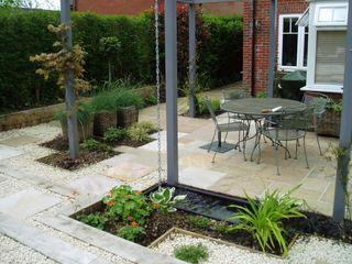 Low Maintenance Garden Cherry Mills Garden Design Eclectic style garden