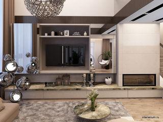 INTERIERIUM Salas de estar minimalistas