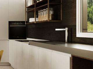 HP Interior srl Modern style kitchen