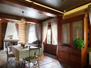 Дом на берегу Хандсвел Столовая комната в стиле кантри
