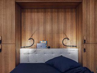 Studio Potorska Dormitorios de estilo escandinavo
