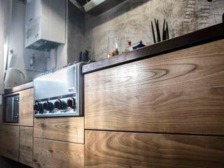 Cocina Sostenible/ Sustainable Kitchen thesustainableproject Cocinas de estilo industrial