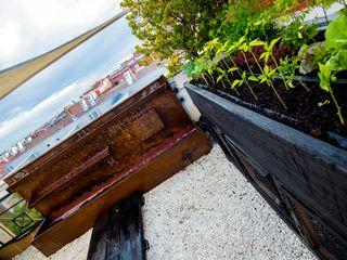 Terraza Mediterranea Sostenible thesustainableproject Jardines de estilo rural