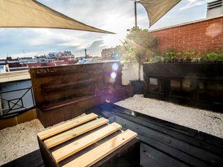 Fuente n1 thesustainableproject Balcones y terrazas de estilo industrial