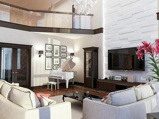 INTERIERIUM Salas de estar modernas