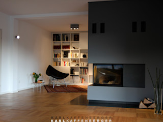 Karl Kaffenberger Architektur   Einrichtung 客廳