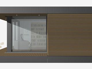 smartshack Estudios y despachos de estilo minimalista