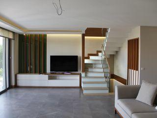 Mimkare İçmimarlık Ltd. Şti. Salas de estar modernas
