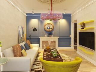 Apolonov Interiors Ausgefallene Wohnzimmer