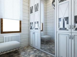 Apolonov Interiors Klassischer Flur, Diele & Treppenhaus