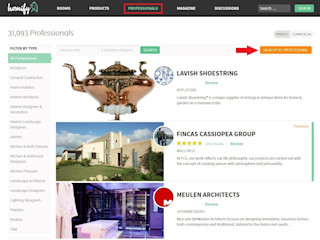 How do I create an expert profile on homify? homify UK