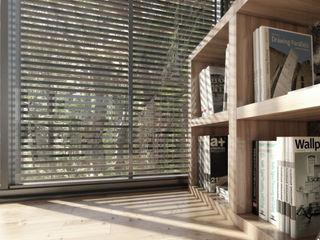 NATURAL LIGHT DESIGN STUDIO Рабочий кабинет в стиле модерн
