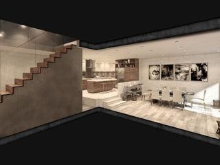 NATURAL LIGHT DESIGN STUDIO Кухни в эклектичном стиле