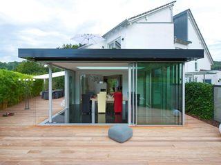 Luxuriöses GLASSHOUSE® mit großzügiger Ausstrahlung KELLER AG Moderner Wintergarten