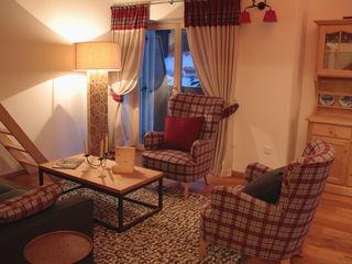 NOMADE ARCHITETTURA E INTERIOR DESIGN Rustic style living room