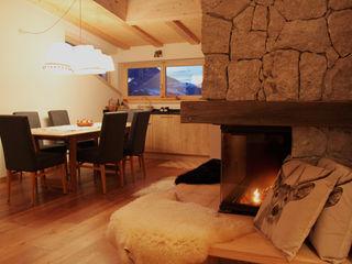 NOMADE ARCHITETTURA E INTERIOR DESIGN Rustic style dining room