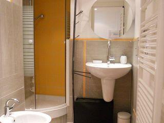 Mini alloggio a Nizza UAU un'architettura unica Bagno moderno