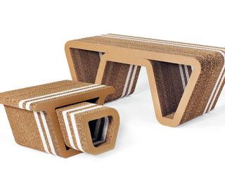 Underground Collection Origami Furniture Paisajismo de interiores
