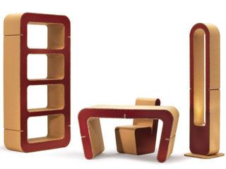 Snake Collection Origami Furniture EstudioBibliotecas y estanterías