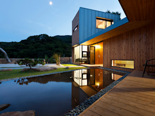 hyunjoonyoo architects モダンな庭