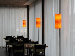 raum12 Leuchten aus Echtholzfurnier im Hotel Krone in Dornbirn/Austria raum12 Klassische Hotels