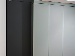 Casa C&S Bodà Ingresso, Corridoio & Scale in stile moderno