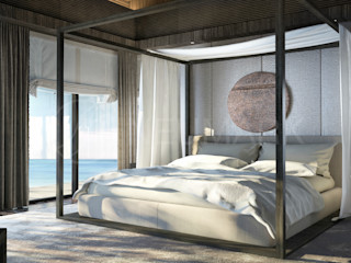 homify Asian style bedroom
