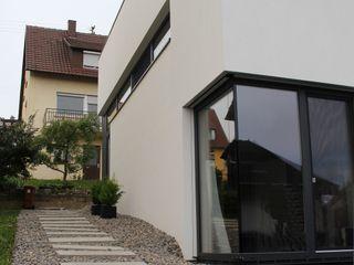 Neubau WOHNHAUS di architekturbüro Minimalistische Häuser