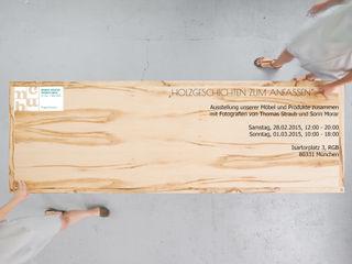 Holzgeschichten 다이닝 룸테이블