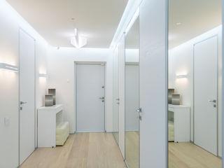 ANNA SHEMURATOVA \ interior design Minimalist corridor, hallway & stairs