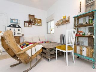 casa 10 J Cocinas de estilo escandinavo