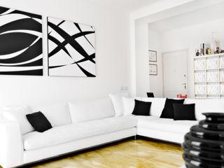 PAZdesign Salas de estilo moderno