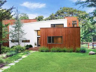 Modern Beach House - East Hampton, NY Eisner Design Rumah Modern