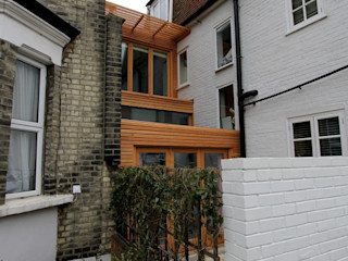 Unique Side Extension with Kitchen and Bedroom / Office Space: Wellesley Avenue, Hammersmith Affleck Property Services Modern houses