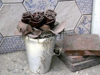 Le piastrelle sono multicolor e... patchwork! Ceramiche Addeo Cucina moderna