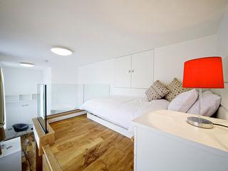 Student Accommodation - SW10 Ceetoo Architects Cuartos de estilo moderno