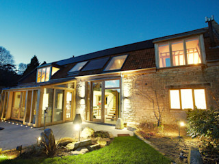 Sustainable Barn Conversion Hart Design and Construction Country style houses