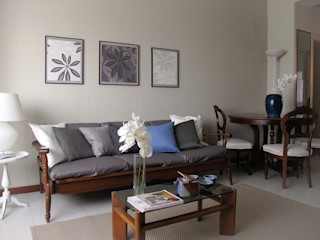Home Staging per trilocale Milano zona Inganni Clara Avagnina Home Staging