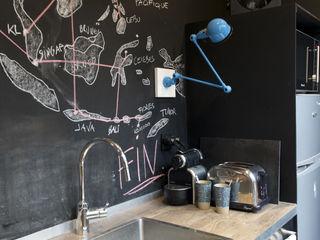 Atelier Grey Cucina moderna